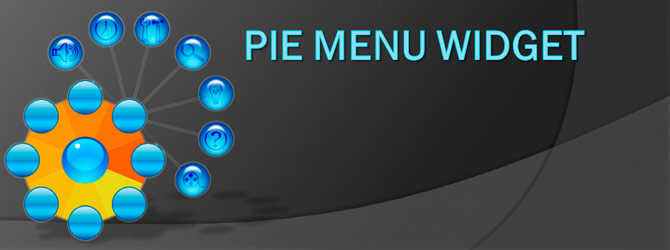 Pie Menu widget in Java