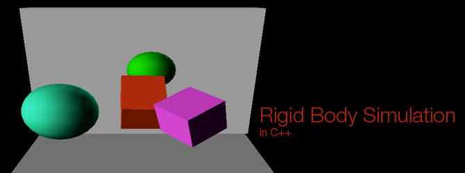 Rigid Body Simulation in C++